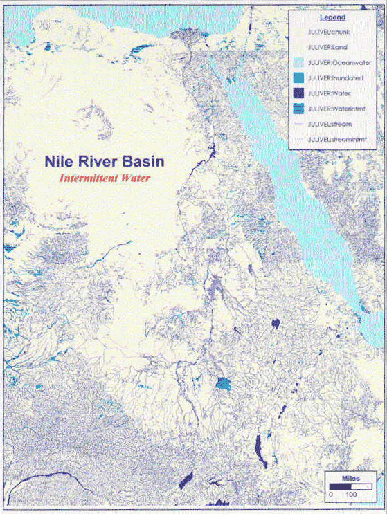 Geographic Setting Hydraulic Civilization On The Nile - Nile river map world atlas